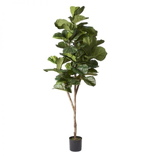 Faux Fiddle Leaf Fig Tree